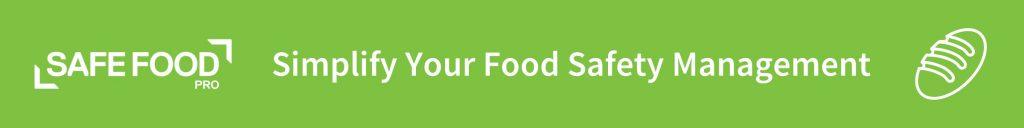 Safe Food Pro digital food safety program app