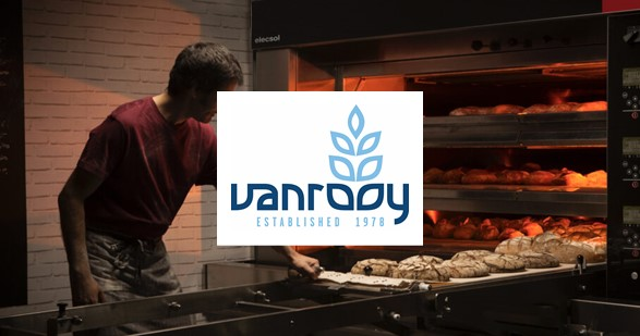 Vanrooy Machinery bakery equipment commercial ovens refrigeration dishwashers